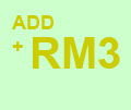 ADD RM3 CHANGE DRINKS