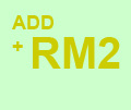 ADD RM2 CHANGE DRINKS
